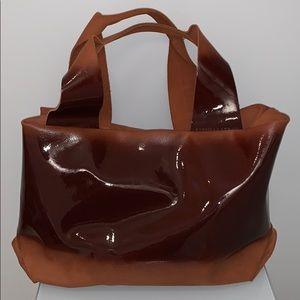NWOT Daniella Lehavi Suede and Patent Leather Bag